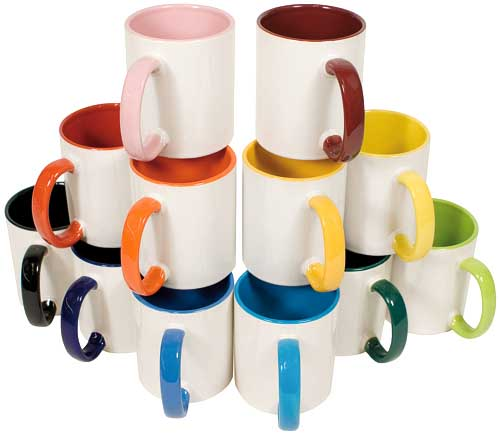Kaffeetassen oder Becher mit ihrem Firmenlogo bedrucken