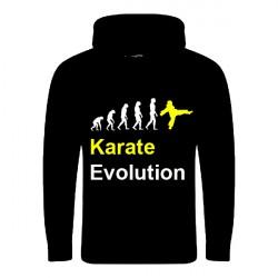 HOODIE KARATE EVOLUTION SCHWARZ